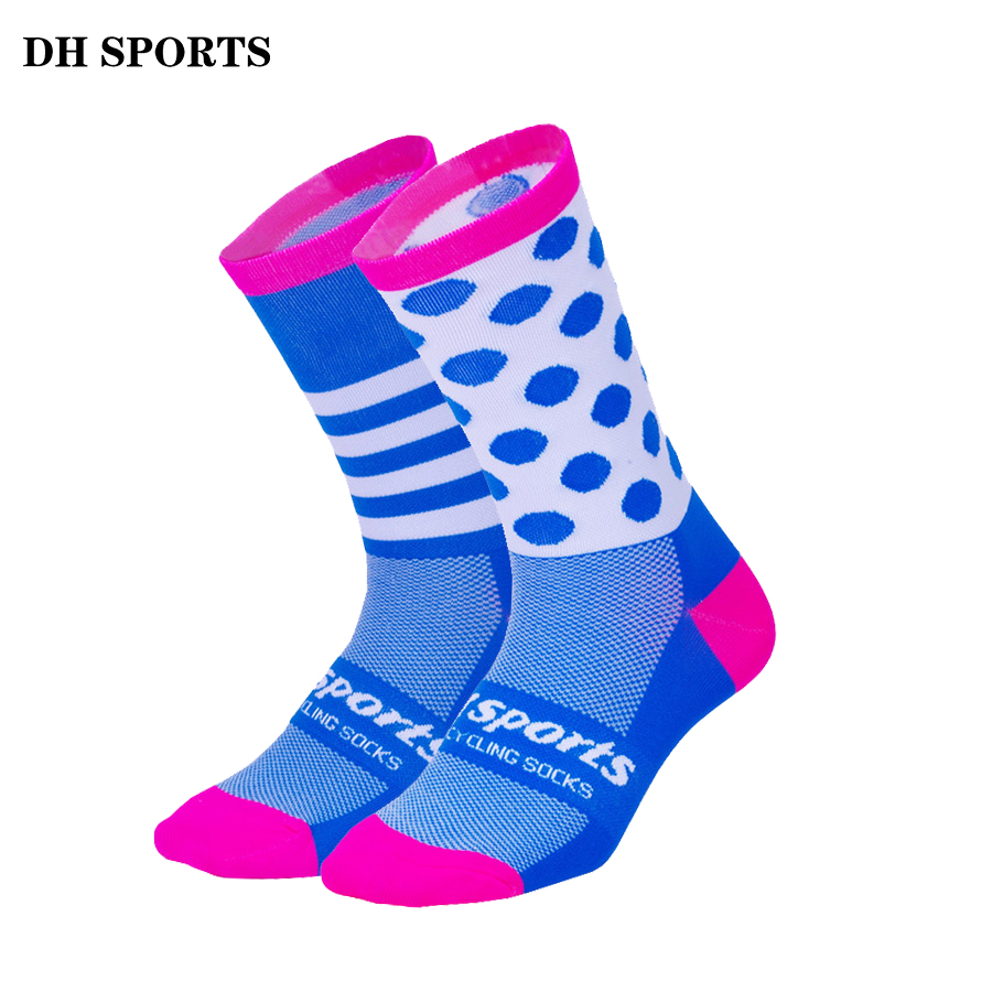 DH SPORTS Top Quality Professional Brand Sport Pro Cycling Socks Comfortable Road Bicycle Socks Mountain Bike Socks Racing Socks