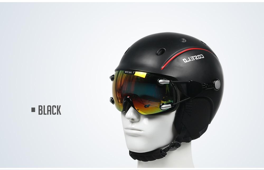 Newest Costelo Airwolf Skateboard Ski Snowboard Helmet ski ...
