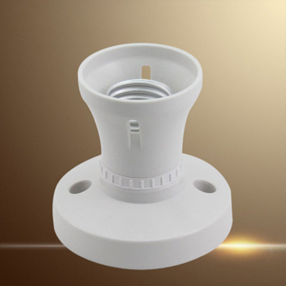 Fitting Lamp Bases Fixing Adapter Socket Practical Converter Light Bulb Holder Pendant Wall E27 Plug Screw Cap Ceiling