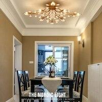 LED Ceiling Lamp Modern Minimalist American Bedroom Restaurant Children Room Living Room Lighting