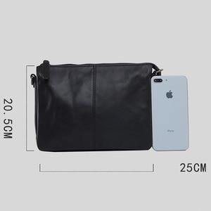Image 5 - AETOO sac à main en cuir pour hommes, sacoche simple à épaule fashion, sacoche multifonctionnelle