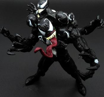 Character Venom with 9 Heads  BJD Figure Model Toys 18cm