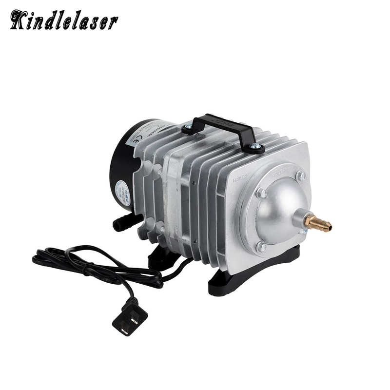 60W Laser Air Compressor Electrical Magnetic Air Pump for CO2 Laser Engraving Cutting Machine ACO-328 cloudray 60w air compressor electrical magnetic air pump for co2 laser engraving cutting machine aco 328