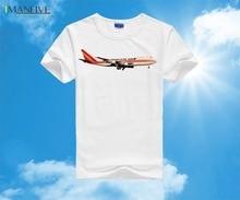 Kalitta Air Cargo Boeing 747-200 T-Shirt S,M,L,XL,XXL 3XL 2019 New Summer Men 100% Cotton T Shirt Short Sleeve Tee Shirts цены