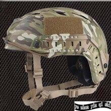 Emerson casque de protection tactique à Base rapide, TYPE BJ, moto de chasse, casque de sécurité de Combat Airsoft militaire