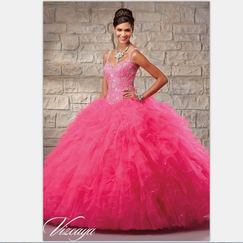 free shipping Sexy 2019 New Open Back Beaded Tulle Quinceanera   Dress   Gowns Vestidos Ball Gown Vestidos   bridesmaid     Dresses