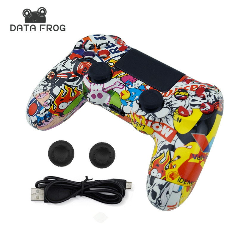 For Sony PS4 Wireless Bluetooth Gamepads Custom Bomb Game Controller For Playstation 4 Dualshock 4 Joystick Gamepads voground new for sony ps4 bluetooth wireless controller for playstation 4 wireless dual shock vibration joystick gamepads