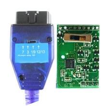 최고의 4 웨이 스위치 FTDI FT232RL 칩 VAG USB Obd2 진단 케이블 피아트 자동차 Ecu 스캔 도구에 대 한 사용 VAG USB 인터페이스 OBD 어댑터