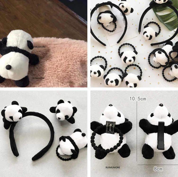 パンダのおもちゃ、素敵な 3 センチメートル-11 センチメートルリトルパンダぬいぐるみ、アクセサリーぬいぐるみ人形
