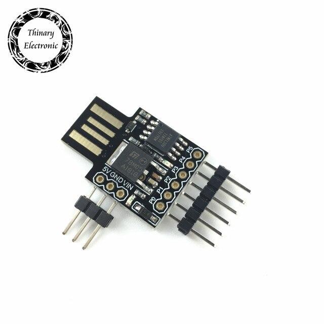 Placa de desarrollo Digispark Kickstarter, módulo ATTINY85 para Arduino Usb, 50 Uds.