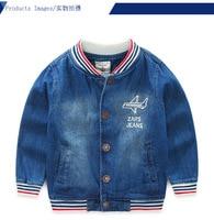 Jean Jacket For Girls Boys Denim Coat 2017 New Arrive Spring Kids Jacket Children Clothes