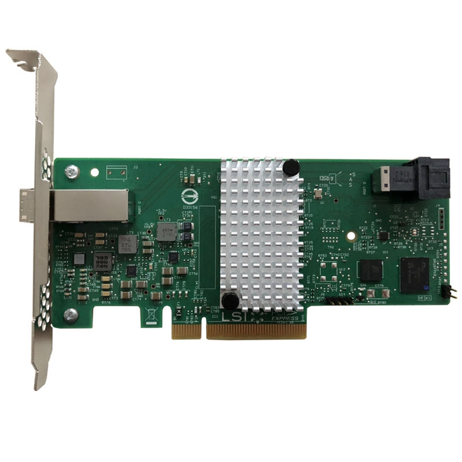 Eastforfuy 3008R-4I4E 9311-4I4E Original LSISAS3008 8 Port RAID SFF8643 SFF8644 NO Cache HBA PCI-E3.0 X8 Controller Card(China)