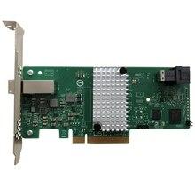 Eastforfuy 3008R-4I4E 9311-4I4E LSISAS3008 8 портов RAID SFF8643 SFF8644 без кэша и надписью «HBA» PCI-E3.0 x8 контроллер карты