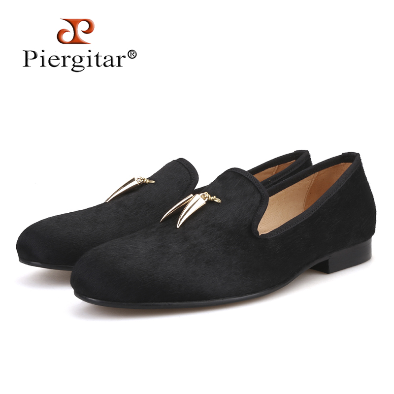 2018 new style horsehair men shoes with metal Shark tooth shape tassel British style smoking slipper party and prom men loafers pink suede mens shoes newest style fashion men tassel loafers plus size men s smoking shoes summer men party and prom shoes