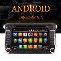 "Quad Core Android 4.4 7 ""2din Автомобильный DVD для VW GOLF 5 Golf 6 ПОЛО PASSAT CC JETTA TIGUAN TOURAN EOS SHARAN T5 CADDY с GPS"