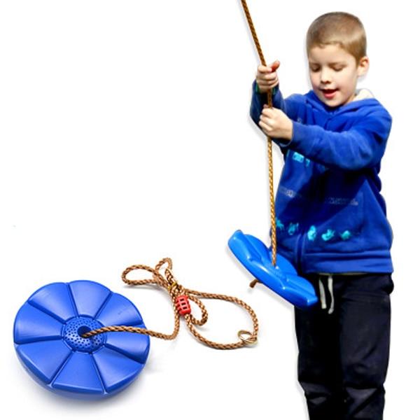 Octagonal Swing Children Outdoor Exercise Equipment Disc Plastic