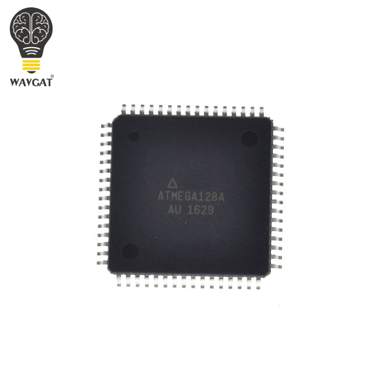 Free Shipping ATMEGA128A-AU ATMEGA128A ATMEGA128 8-bit Microcontroller with 128K Bytes In-System Programmable Flash