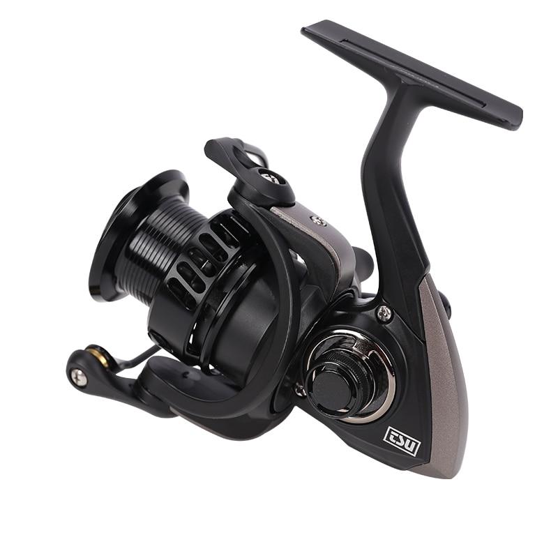 цены на TSURINOYA Falcon 2000 3000 7kg Drag Saltwater 5.2:1 Fishing reel wheel left hand right hand 8+1BB Fishing Spinning wheel