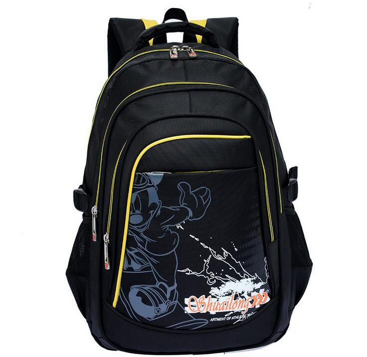 New nylon backpacks Children s cartoon schoolbags Intermediate students burdens  school bags Casual Backpack free shipping-in School Bags from Luggage   Bags 1a084c6e8d863