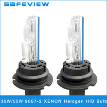 SAFEVIEW 2 pieces 12V 35W 55W 9007-2 hid xenon bulb 4300K 6000K 8000K 10000K car headlights Car/motorcycle head lamp Accessories