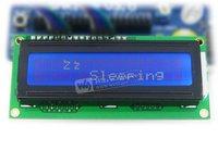 LCD1602 16 Caractères * 2 Lignes Caractère LCD module Blanc Caractère bleu Rétro-Éclairage 5 V Pour Logique Circuit TN/STN mode