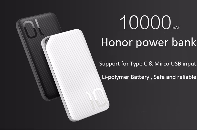 PINENG 10000mah Two-way Fast Charge Power Bank PN 993 QC3.0 Portable Battery Li-Polymer Type-c port For iphone6s Mi Huawei Meizu 13