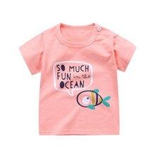 Cartoon Children's Cotton T-Shirt