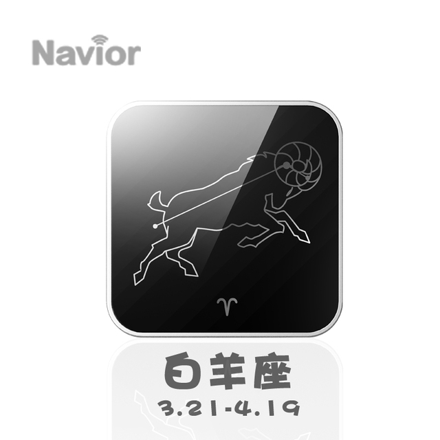 Navior bluetooth 4.0 two-way anti-lost alarm wireless map anti-lost alarm