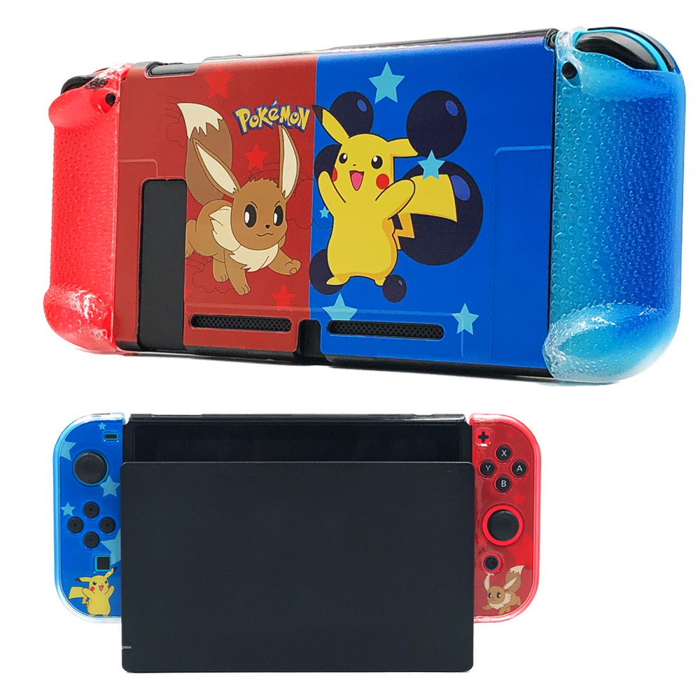 Nintend Switch Cover Case Console Protective Case and Joy-Con Controller Grips for Nintendos Switch Fit-In-Dock