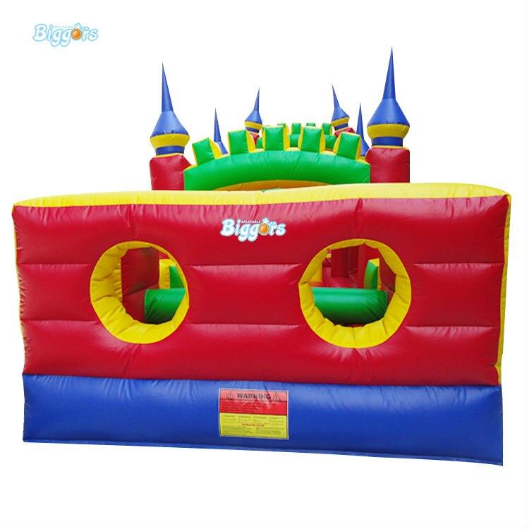 Inflatable Biggors 6 в 1 Combo Спортивные Игры Надувные Полосы Препятствий Для Детей Весело