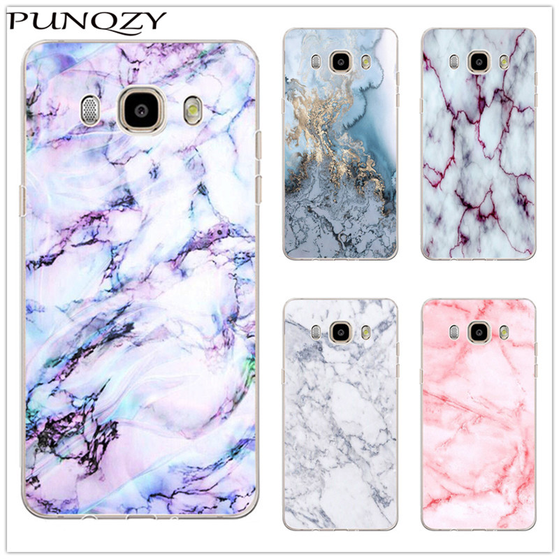 Colorful Marble Pattern Print Hard Plastic Case For