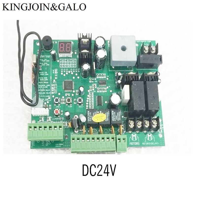 DC12V /24V Swing Gate Opener Motor Control Unit PCB Controller Circuit Board Electronic Card PKMC01 PKMC02