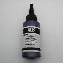 цена на Universal 1 ink Dye Ink For CANON Printers Premium 100ML 4 BLACK for CANON all printer ciss Bottled ink Refill Kit