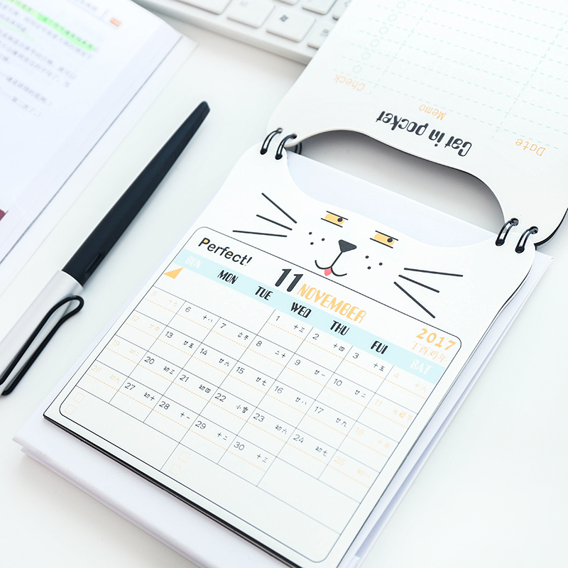 office desk calendar