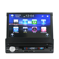 Universal 1Din Head Unit Car GPS Navigation Auto Radio 7 Inch Touch Screen Car Stereo AM
