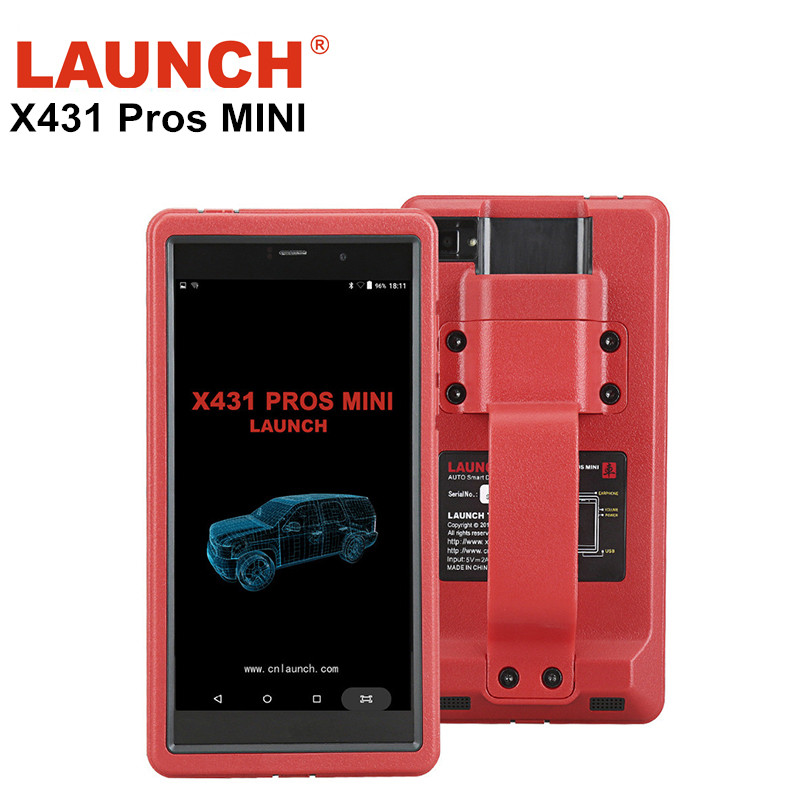 New LAUNCH X431 PROS MINI OBD OBD2 Diagnostic-Tool With Bluetooth Full Systems Launch X431 Pro With 2 YEARS Free Update