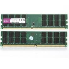 Kllisre 8 ギガバイト DDR2 2 × 4 ギガバイトの ram 800 Mhz PC2 6400 240Pin メモリちょうど Amd のデスクトップ dimm