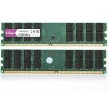 Kllisre 8GB DDR2 2 X 4GB ram 800 Mhz PC2 6400 240Pin Memory just For AMD Desktop dimm