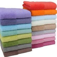 100% Cotton140G Jacquard Face Towels Hand Towel for Kitchen 17 Color Bathroom Shower  34*74cm Serviette Toallas 1PC/2PCS