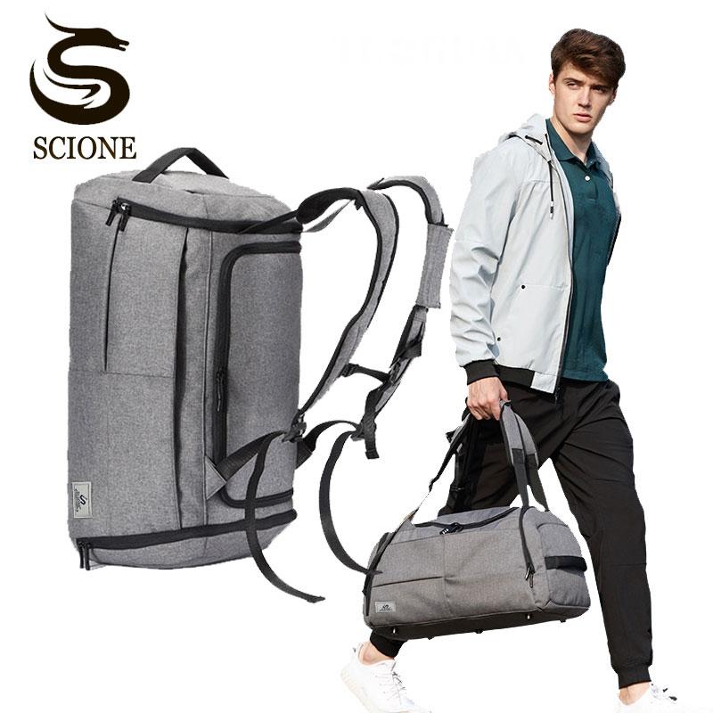 Multifonction hommes sacs de voyage Anti-vol homme sac Portable voyage sacs polochon pour homme grande capacité épaule sac à main sac à dos