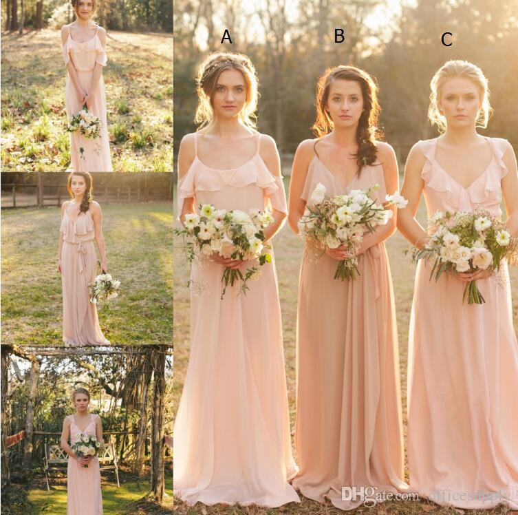 Popular boho bridesmaid dresses buy cheap boho bridesmaid for Boho country wedding dress