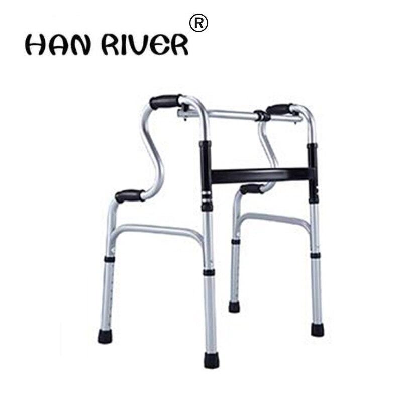 Mobilitätshilfen Vier Füße Zu Fuß Stick Für Behinderte/hub Rehabilitation Pulley FäHig Die Alten Mann Zu Helfen Linie Gerät/aluminium Legierung Helfen Schritt