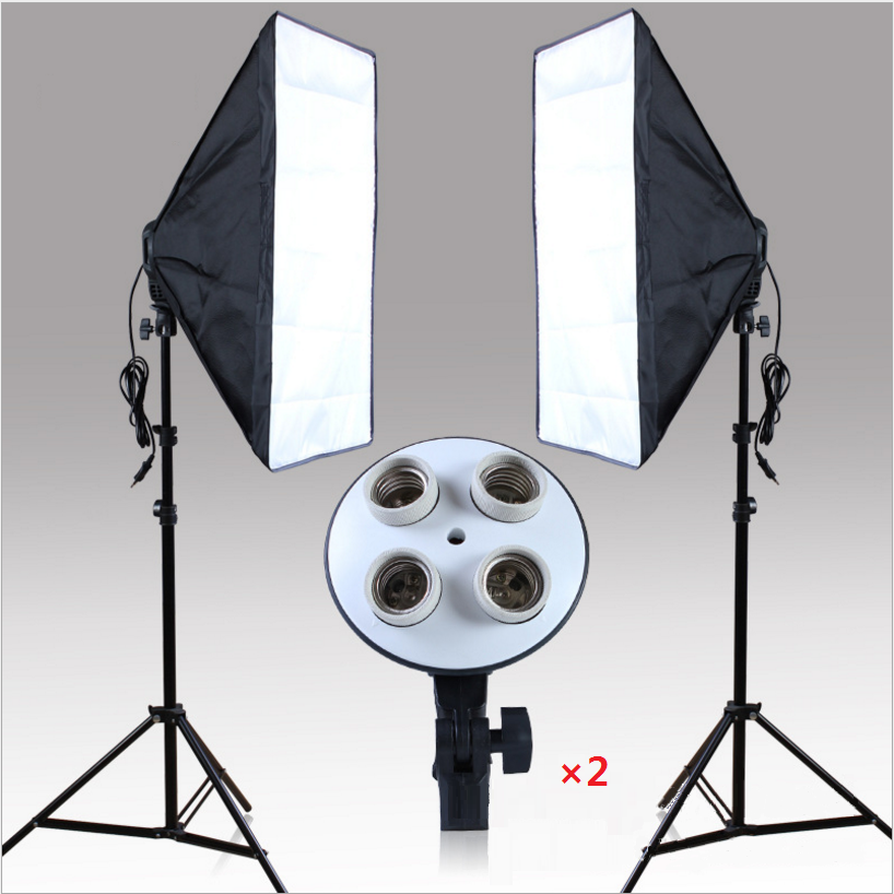 20 X 28 Softbox Photography Light Kit Photo Video Equipment Soft Studio Continuous Lighting Kit Does
