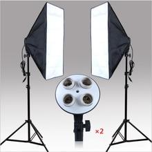 20 «x 28» Софтбоксы Фотография Light комплект фото видео оборудования студия мягкий непрерывной Освещение Kit (не содержит ламп)
