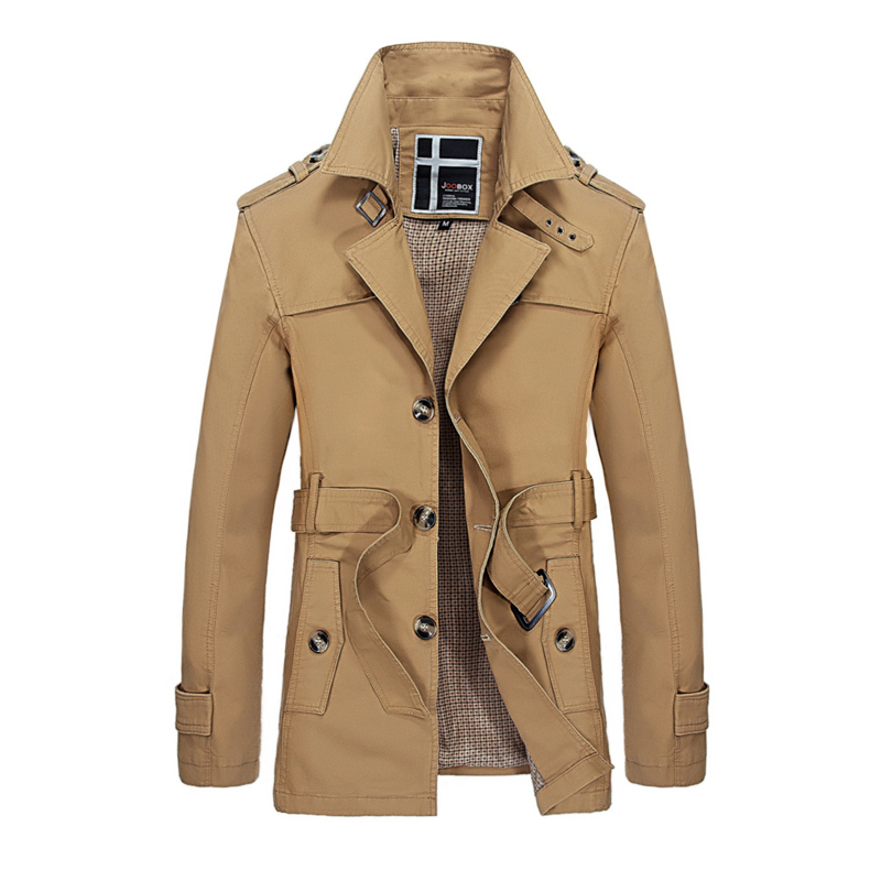 Masculine jacket Thicken Winter Fleece Jacket Coat Men ...