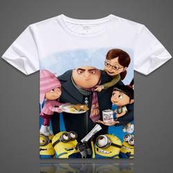 2017 new arrival freeshipping none regular cotton minion t shirt despicable me new ladies minions dispicable.jpg 250x250