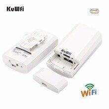 1KM 2pc 2.4Ghz 300Mbps p2p חיצוני אלחוטי CPE גשר נתב תומך WDS פונקצית אין הגדרת עם LED תצוגה