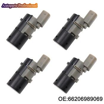 цена на 4 pcs/lot Reverse Backup Assist PDC Parking Sensor For BMW E39 E46 E53 E60 E61 E63 E64 E65 E66 E83 66206989069 66200309540 Car
