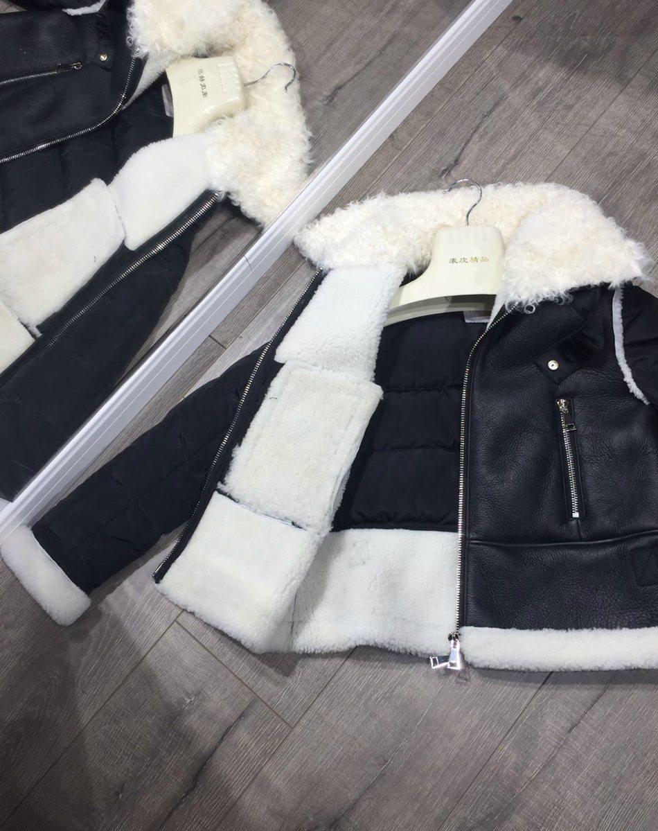 genuine leather down jackets winter women (14)