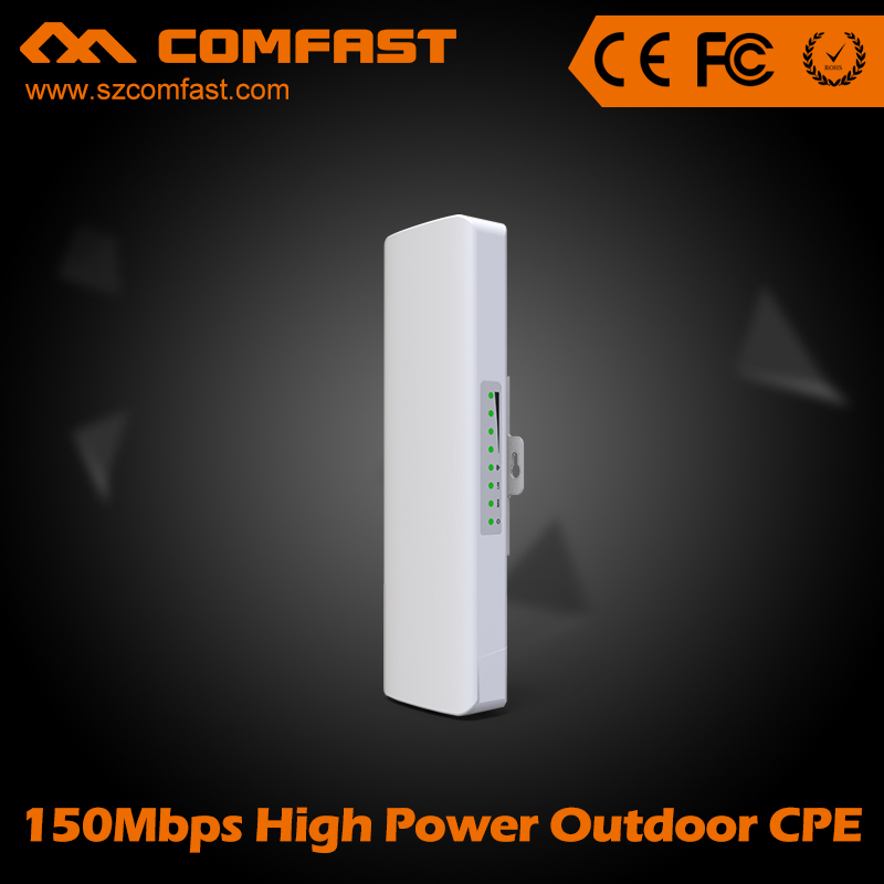 ФОТО 2pcs COMFAST 150Mbps High Power Outdoor wireless bridge CPE/wifi repeater router for long distance wifi Receiver and transmitter
